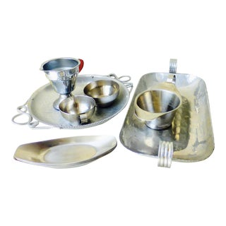 Art Deco Serving Dishes - Set of 11 For Sale