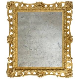 George II Rococo Style Mirror, England, Circa 1830 For Sale