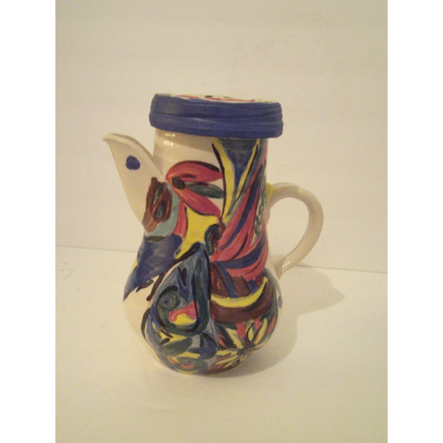 Art Pottery Covered Carafe - Image 2 of 7