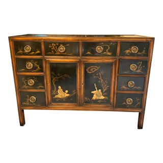 Theodore Alexander Asian Cabinet Buffet For Sale