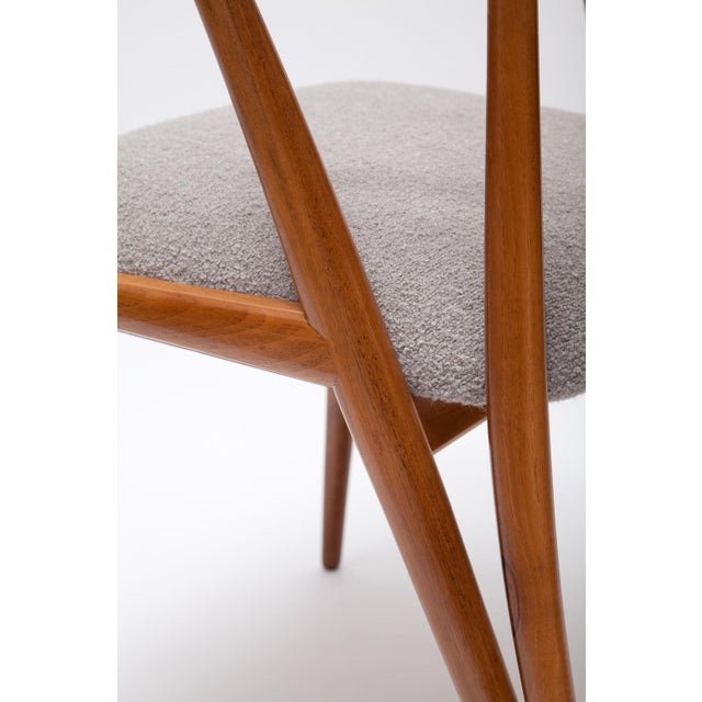 Pair of Bertha Schaefer Walnut Armchairs for Singer & Sons For Sale - Image 9 of 10