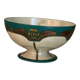 Early 20th Century Hand Painted Haviland France Bowl For Sale