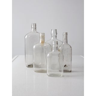 Antique Apothecary Bottle Collection - Set of 5 Preview