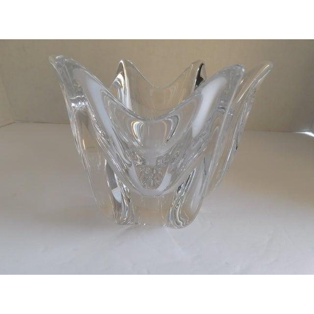 Vintage Orrefors Crystal Bowl For Sale - Image 11 of 12