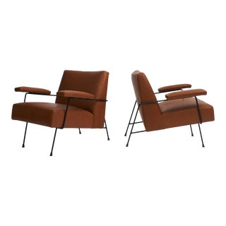 Milo Baughman Lounge Chairs - a Pair For Sale