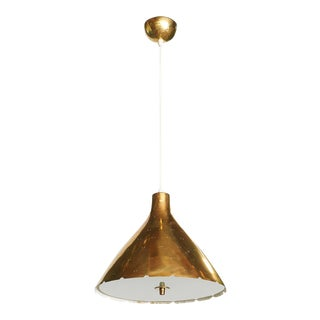 Pendant in Brass by Paavo Tynell For Sale