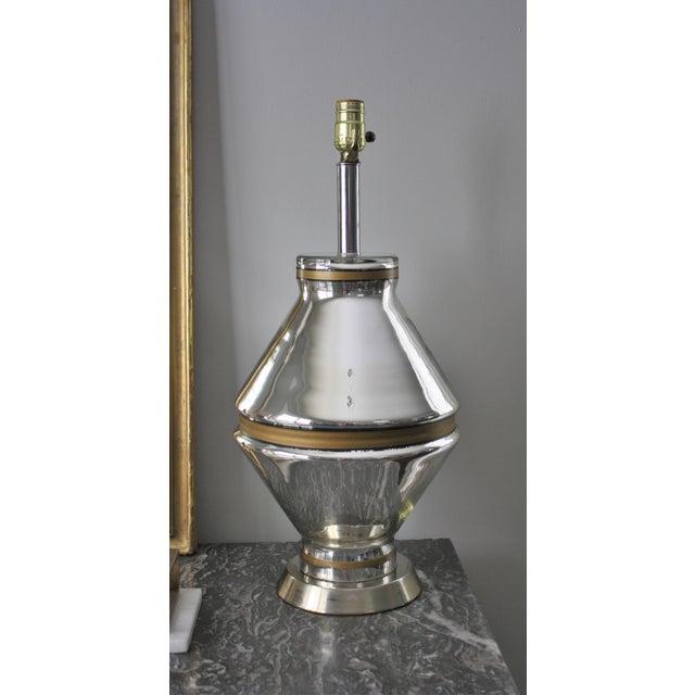 Mid-Century Mercury Glass Lamp - Image 2 of 7