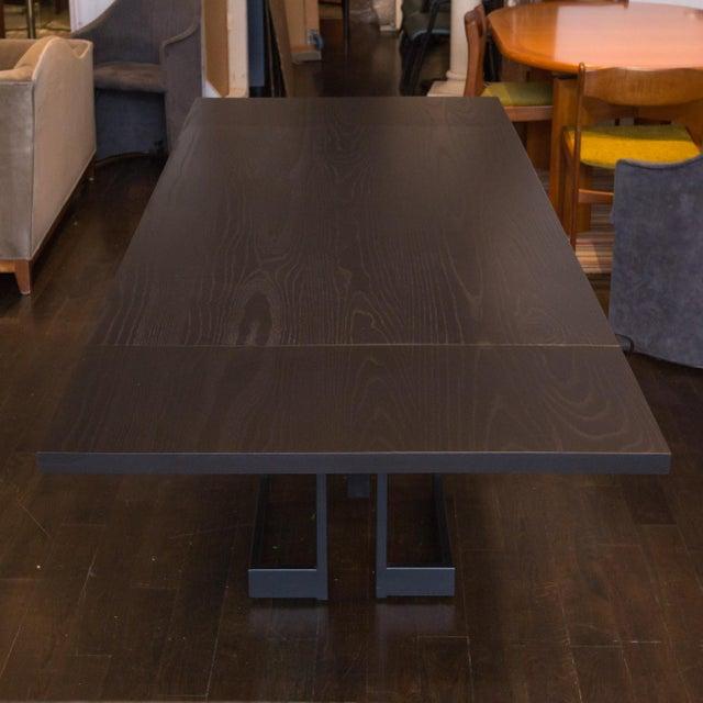 Skram Ebonized Ash Extension Table - Image 5 of 5