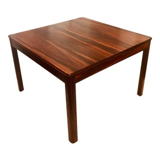 Brode Blindheim Rosewood Coffee Table for Sykkylven 1960s Norway For Sale