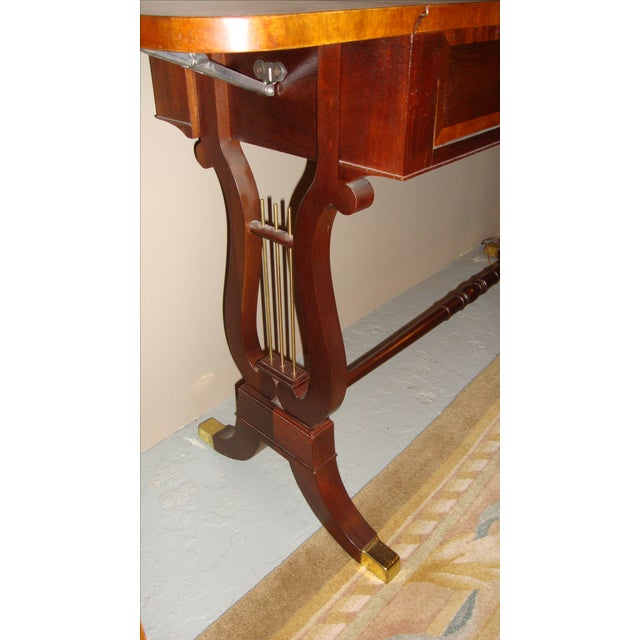 Baker Furniture Company Mahogany Sofa Table - Image 8 of 10