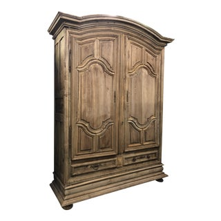 French Louis XIV Dome Top Armoire For Sale