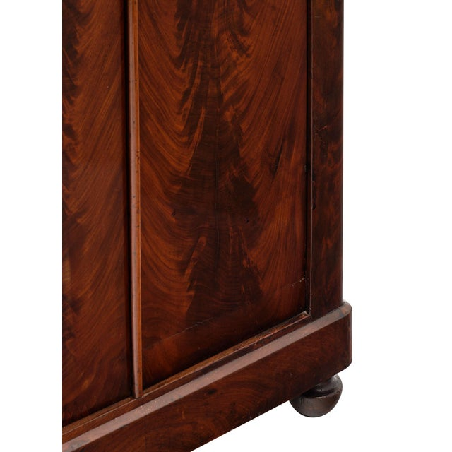 Wood French Restoration Antique Armoire For Sale - Image 7 of 10