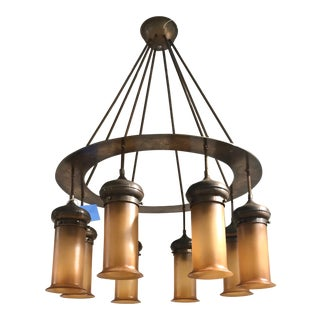 Largely Scaled Custom Chandelier For Sale