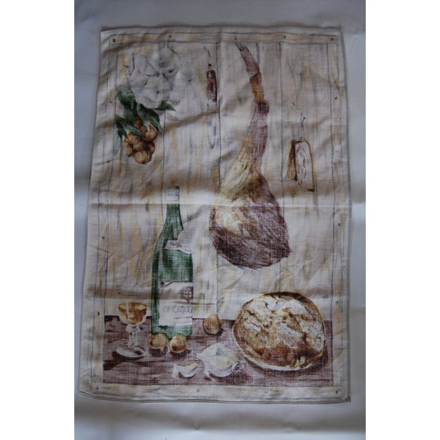 Vintage French Vony Tea Towel - Image 4 of 6