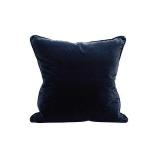 Scalamandre Tiberius Pillow, Ocean For Sale