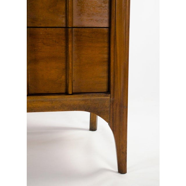 Kent Coffey Perspecta Walnut and Rosewood Credenza For Sale - Image 10 of 13