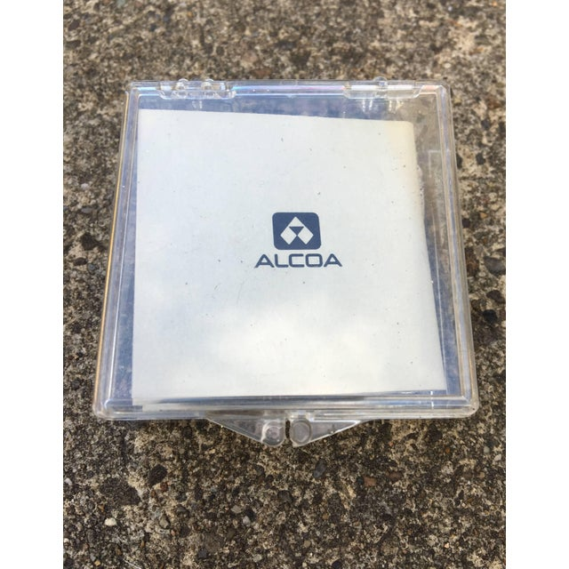 Mid-Century Modern Aluminum Alcoa Sculptural Window Plates For Sale - Image 3 of 5