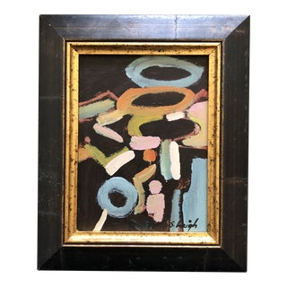 "Original Contemporary Stephen Heigh Modernist Abstract ""Landscape"" Painting For Sale"