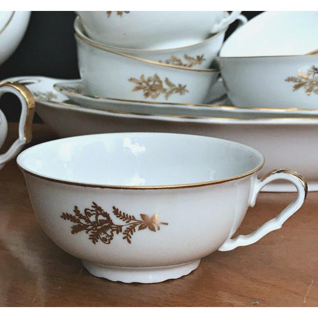 Epiag Royal Czechoslovakia Luncheon Set - 43 Pieces For Sale In Montgomery - Image 6 of 13