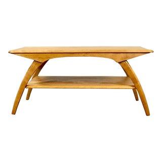 1960s Mid Century Modern Heywood Wakefield Coffee Table For Sale
