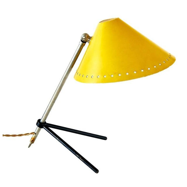 """1950s """"Pinocchio"""" Desk or Wall Lamp by H.Th.J.A. Busquet For Sale - Image 5 of 6"""