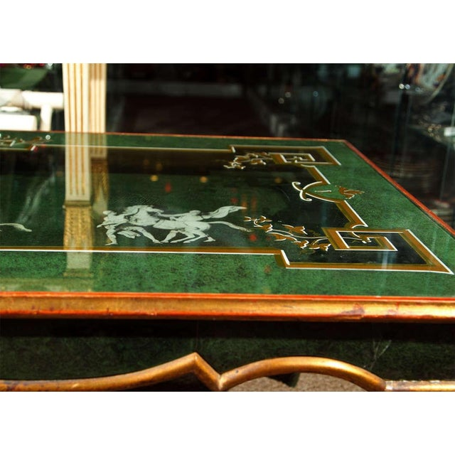 20th Century Fornasetti Style Coffee Table For Sale - Image 7 of 8