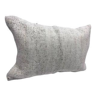 Authentic Turkish Anatolian Modern Sofa Lumbar Kilim Pillow Case For Sale