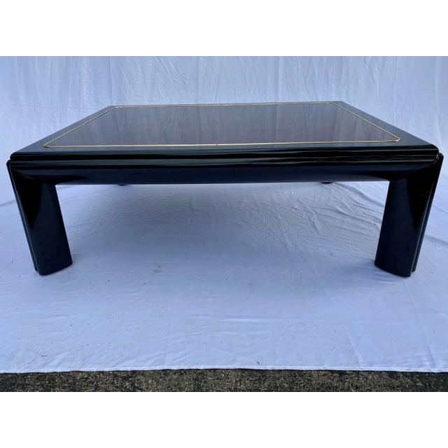 1970s Henredon Scene III Burl Coffee Table For Sale - Image 11 of 13