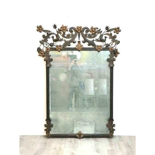 Vintage Custom Wall Mirror For Sale - Image 13 of 13