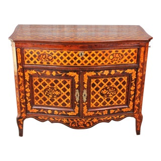 Early 19th Century Dutch Neo-Classical Satinwood Inlaid Buffet