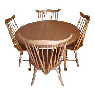 1960s American Classic Salem House Dining Set - 5 Pieces For Sale