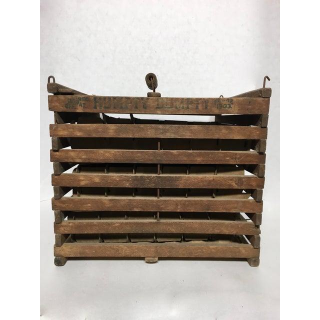 Antique Humpty Dumpty Egg Crate - Image 4 of 6