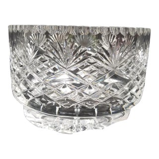20th Century Traditional Waterford Crystal Fruit Bowl For Sale