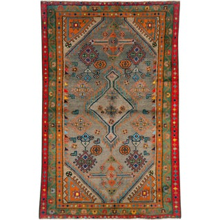 "Vintage Persian Malayer Rug – Size: 3"" X 4' 8"" For Sale"