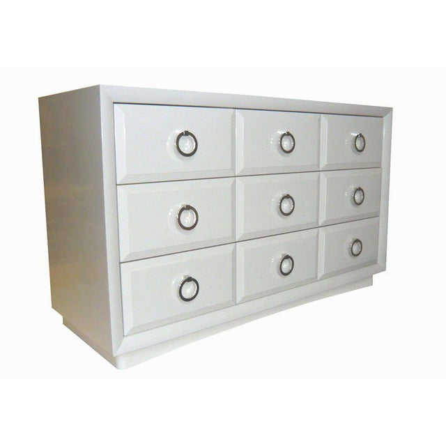 Modern Customizable Artem Lacquered Dresser For Sale - Image 3 of 8