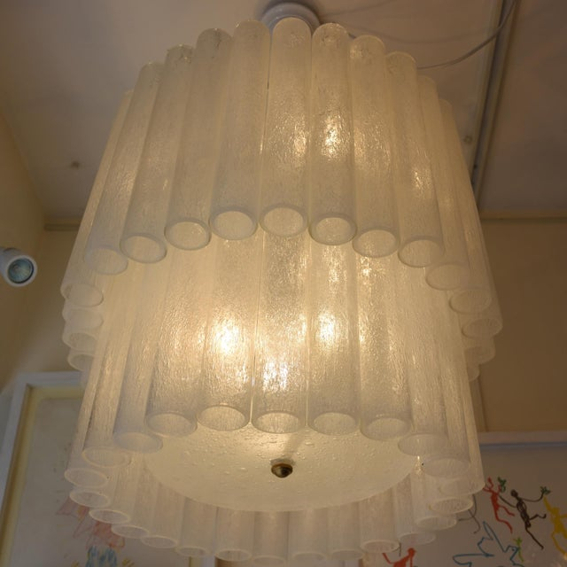 Murano Tubu Ceiling Lights - A Pair For Sale - Image 4 of 6