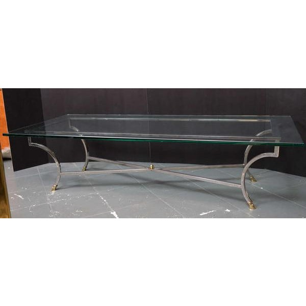 Maison Jansen Style Coffee Table For Sale In Miami - Image 6 of 8