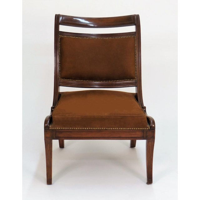 Hollywood Regency Hope Revival Chair For Sale - Image 3 of 11