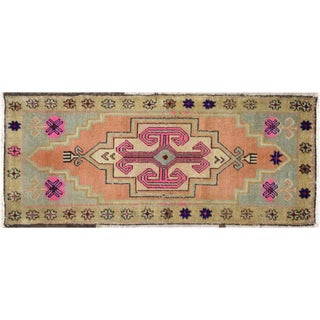 "1960s Turkish Oushak Yastik - 1'7"" X 3'6"" For Sale"