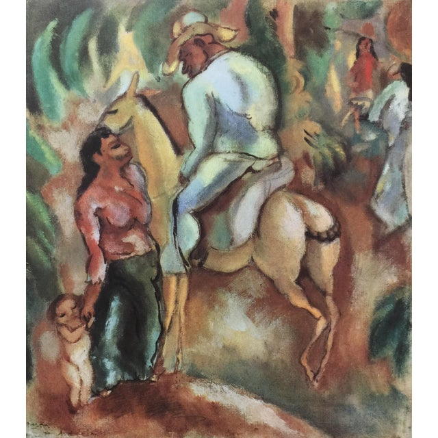 1950s 1954 Portfolio of 25 Color Stone Lithograph Prints by Jules Pascin For Sale - Image 5 of 13