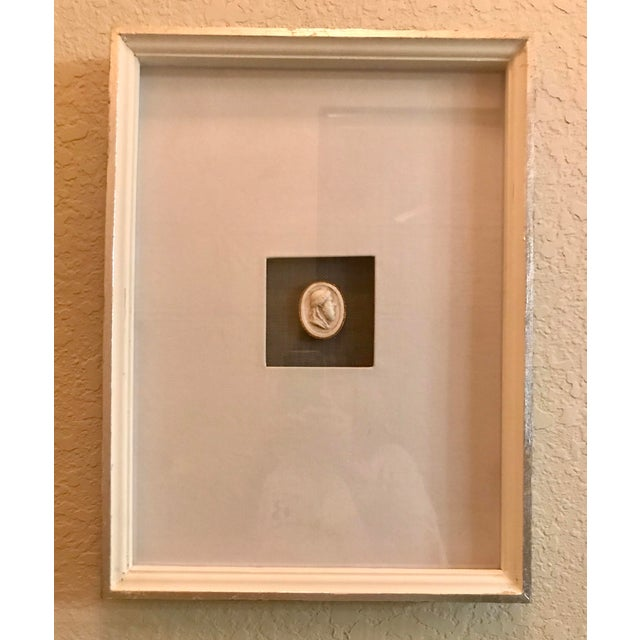 Matted and Framed Intaglio #3 For Sale - Image 4 of 4