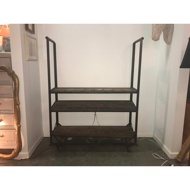 Antique Industrial Cobblers Shoe Rack Shelving Unit - Image 2 of 11