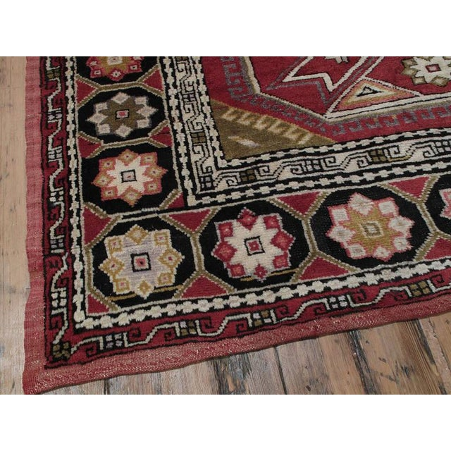 Red Northwestern Anatolian Rug For Sale - Image 8 of 9