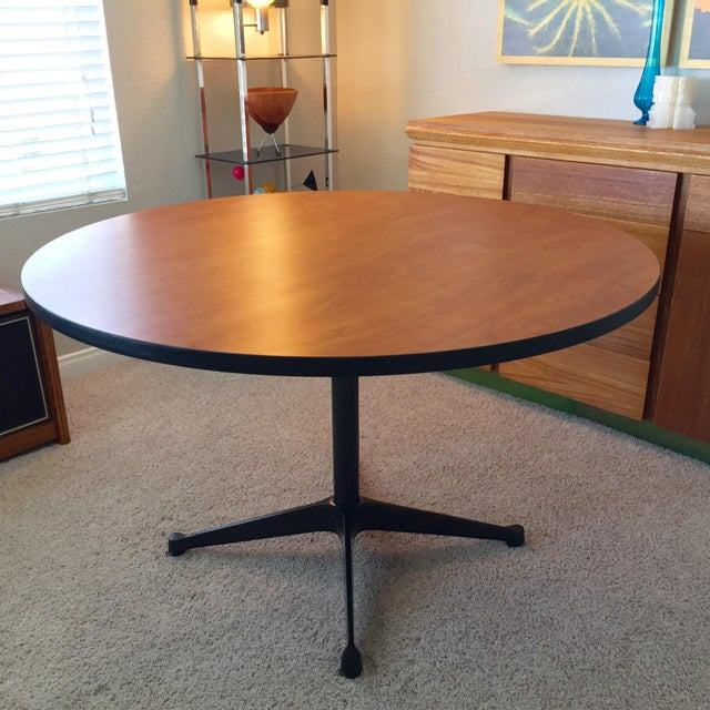 Eames for Herman Miller Contract Base Dining Table For Sale - Image 5 of 9