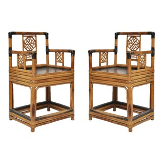 Chinese Antique Chairs - a Pair For Sale