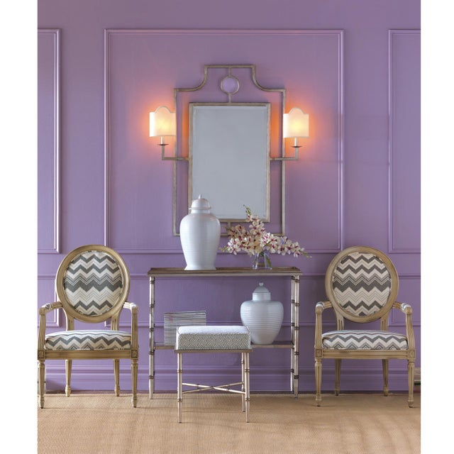"""Port 68 Overall 46"""" in height. Perfect for the grand bathroom, dining room console or entryway. The Doheny mirror also..."""
