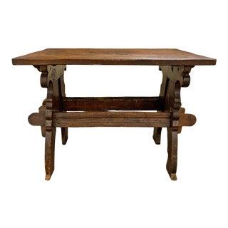 17th Century Dutch Trestle Table For Sale