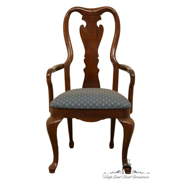 "40"" High 21.5"" Wide 21.75"" Deep Seat: 19"" High Arms: 24.75"" High We specialize in High End Used Furniture that we consider..."