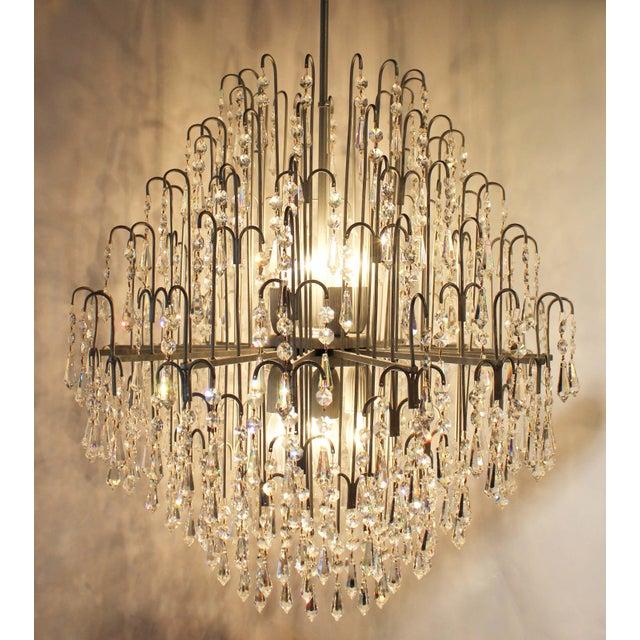 Swarovski crystal chandelier chairish swarovski crystal chandelier image 2 of 6 mozeypictures Choice Image