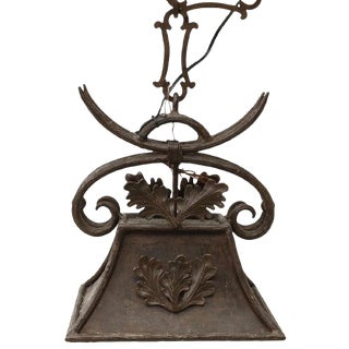 Naos Forge Iron Hanging Lamp For Sale
